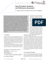 Water Soluble Polymer Flocculants Synthesis, 