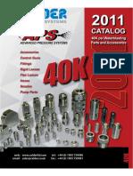 40K Waterblast catalogue