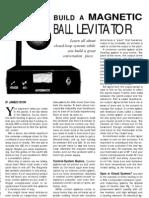 Build a Magnetic Levitator