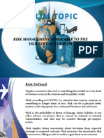 Risk Management Concepts and Principles