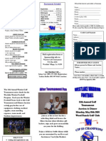 10 Golf Tourney Brochure