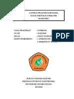 Laporan Praktik Dasar Teknologi Mekanik (Gusrimal)