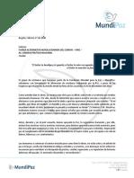 Carta Mundipaz