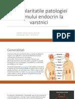 Particularitatile patologiei sistemului endocrin la varstnici
