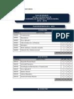 PLAN DE ESTUDIOS 2016 -2018