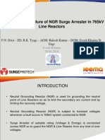 Failures of 624kV Class Surge Arrester in POWERGRID network – A Case Study.pdf