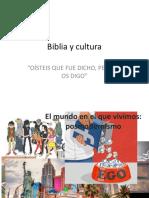 Biblia y cultura