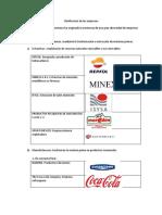 Clasificacion de las empresas original.docx