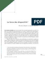 DODIER Nicolas; BARBOT Janine_La force des dispositifs.pdf
