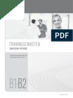 TRAININGSEINHEITEN DEUTSCH PFLEGE. Trainerhandreichungen für Trainingseinheiten B1 B2. (1)