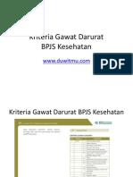 Kriteria-Gawat-Darurat.ppt