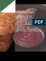 recette KFC