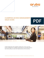 Aruba Networks ClearPass Solution Sales Guide - English