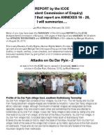 ICOE-Gu Dar Pyin 2 Attacks, Summarized