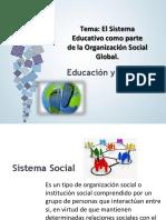 TEMA. EL SITEMA EDUCATIVO COMO PARTE DE LA ORGANIZACION SOCIAL GLOBAL.pdf