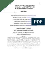 EVASÃO NA EDUCAÇÃO A DISTÂNCIA IDENTIFICANDO CAUSAS E PROPONDO ESTRATÉGIAS DE PREVENÇÃO