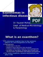 Exanthems in Infectious Diseases