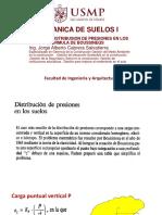 .distribución presiones en los suelos