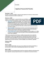 2020-21 Applicant Calendar