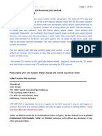 Sales Contract UCP600 ICC FOB Incoterms 2010 advised by David Papa