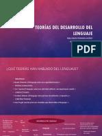Teorías del desarrollo del lenguaje (1)