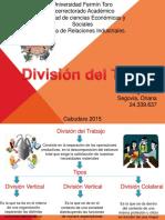 Division de Trabajo