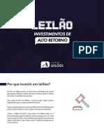 Leilão Investiment de Alto Retorno