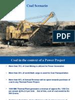 Coal-senario for Power Plant