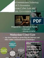 Information Communication Technology SOFTCOPY (Cyber law)
