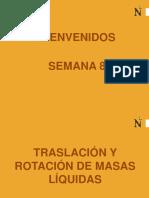 TRASLACION Y ROTACION DE MASAS LIQUIDAS