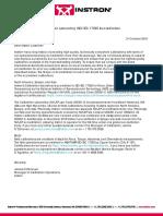 CALIBRATION LABORATORY ISO IEC 17025 ACCREDITATION