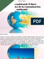 Henry Camino - Alarma Ambiental
