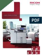 Stampante Multifunzione a Colori MPC6004SP Brochure