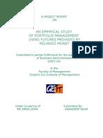 Prjct Finance Reliance Money