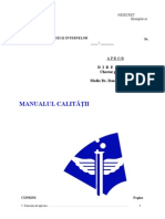 MANUALUL CALITATII IULIE 05