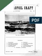 Hydrofoil Craft - Report 1958
