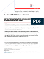 2010_Bologna Diagnosis and Management of Adhesive Small Bowel Obstruction (ASBO).en.es