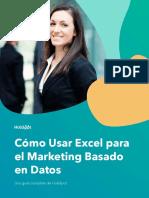 Cómo usar Excel para el marketing basado en datos