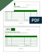 Template Nota Microsoft Word - Green Purworejo