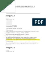 EXAMEN DIRECCION FINANCIERA 1