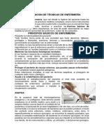 DEFINICION DE TÉCNICAS DE ENFERMERÍA.docx