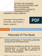 Factors Affecting the Academic Performance of BS Accountancy.pptx