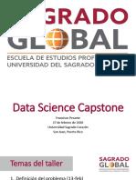 Sagrado Global - Capstone Project Semana 3
