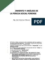 PPT1 Procedimiento y Análisis de la Pericia Social Forense La investigación y su aplicación al trabajo social forense.Doc~1.pdf