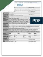 IBM-Infoprint 2085 and 2105  SPECS.pdf