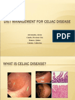 Diet Management for Celiac Disease
