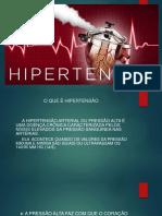 APRESENTAÇÃO HIPERTENSÃO