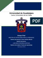 Estrategias didacticas aplicadas al modelo CuValles