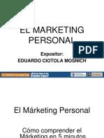Marketing Personal Eciotola