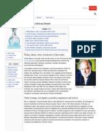 466. Philip Adams on WikiLeaks Advisory Board
